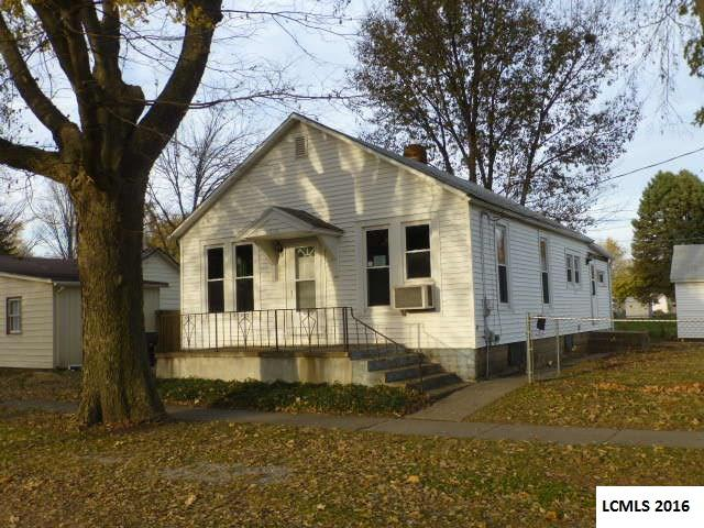 Photo of 1212 Peoria Street  Lincoln  IL