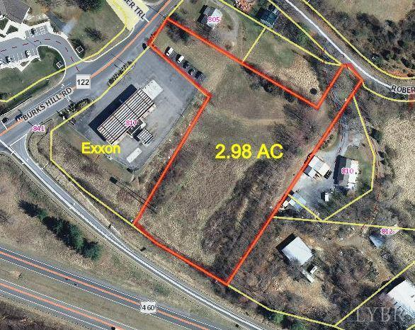 2.98 acres by Bedford, Virginia for sale