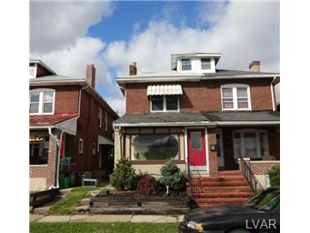 Rental Homes for Rent, ListingId:22282303, location: 1825 West Tilghman Street Allentown 18104