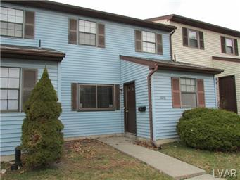 Rental Homes for Rent, ListingId:22851883, location: 1606 Shiloh Court Allentown 18104