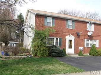 Rental Homes for Rent, ListingId:23114876, location: 1069 Westbury Drive Bethlehem 18017