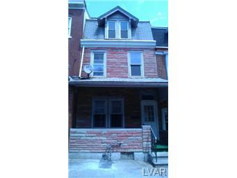 Rental Homes for Rent, ListingId:23593118, location: 519 North Jordan Street Allentown 18102