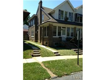 Rental Homes for Rent, ListingId:24577037, location: 440 North 22nd Street Allentown 18104
