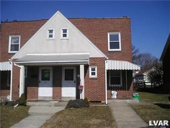 Rental Homes for Rent, ListingId:24703961, location: 1717 West Tremont Street Allentown 18104