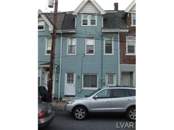 Rental Homes for Rent, ListingId:25087265, location: 436 West Pierce Street Bethlehem 18015