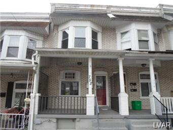 Rental Homes for Rent, ListingId:25682976, location: 752 Pittston Street Allentown 18103