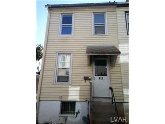 Rental Homes for Rent, ListingId:25809859, location: 512 West Pine Street Allentown 18102