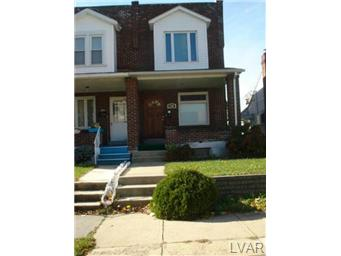 Rental Homes for Rent, ListingId:25894863, location: 1318 North 3RD Street Allentown 18103