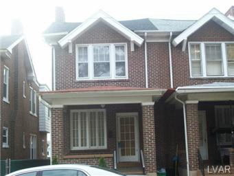 Rental Homes for Rent, ListingId:25902306, location: 124 North 18Th Street Allentown 18104
