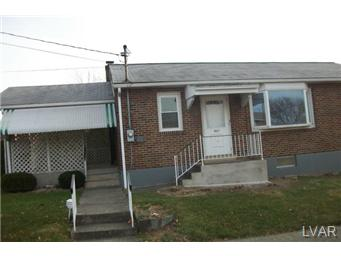 Rental Homes for Rent, ListingId:25993948, location: 847 North Jerome Street Allentown 18109