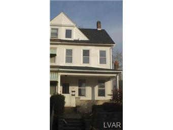 Rental Homes for Rent, ListingId:26002232, location: 106 South 18Th Street Easton 18042