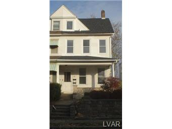Rental Homes for Rent, ListingId:26002233, location: 106 South 18Th Street Easton 18042