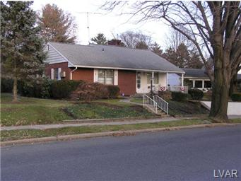 Rental Homes for Rent, ListingId:26010748, location: 1125 Lehigh Parkway Allentown 18103