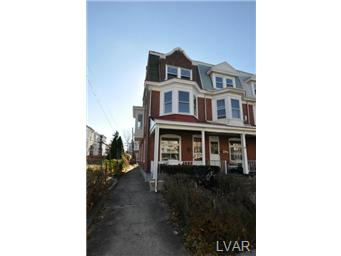 Rental Homes for Rent, ListingId:26156431, location: 1536 West Liberty Street Allentown 18102