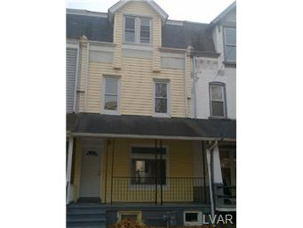 Rental Homes for Rent, ListingId:26161642, location: 424 West Liberty Street Allentown 18102