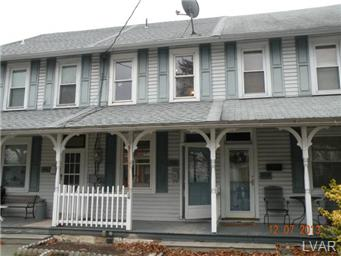Rental Homes for Rent, ListingId:26189912, location: 308 North Main Street Coopersburg 18036