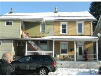 Rental Homes for Rent, ListingId:26327080, location: 727 Front Street Catasauqua 18032