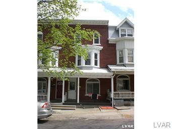 Rental Homes for Rent, ListingId:26449756, location: 127 South 14th Street Allentown 18102