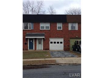 Rental Homes for Rent, ListingId:26548478, location: 643 West Brookdale Street Allentown 18103