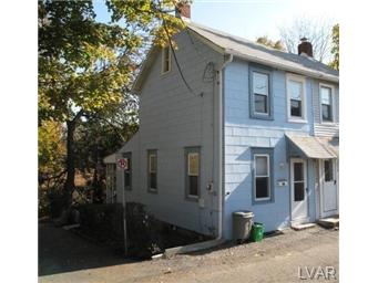 Rental Homes for Rent, ListingId:26720210, location: 221 MILTON Street Catasauqua 18032