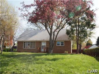 Rental Homes for Rent, ListingId:26796262, location: 1439 North 27th Street Allentown 18104