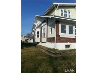 Rental Homes for Rent, ListingId:26870617, location: 2207 Union Boulevard Allentown 18109