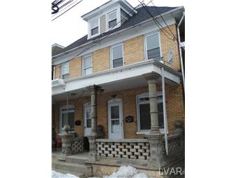 Rental Homes for Rent, ListingId:26966984, location: 1211 Spring Garden Street Easton 18042