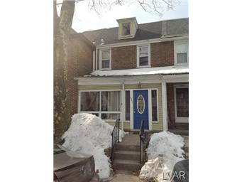 Rental Homes for Rent, ListingId:26981161, location: 627 Dellwood Street Bethlehem 18018