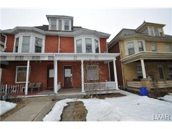 Rental Homes for Rent, ListingId:27051318, location: 1453 Washington Street Easton 18042