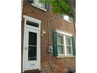 Rental Homes for Rent, ListingId:27057118, location: 509 Cherokee Street Bethlehem 18015