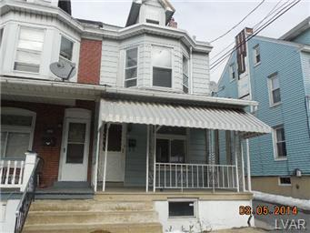 Rental Homes for Rent, ListingId:27122264, location: 215 South Carlisle Street Allentown 18109