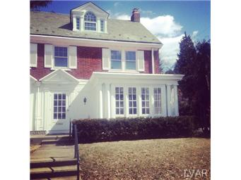 Rental Homes for Rent, ListingId:27516296, location: 321 North 30th Street Allentown 18104