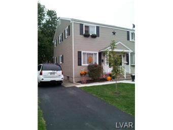Rental Homes for Rent, ListingId:27680084, location: 1310 Greenview Drive Bethlehem 18018