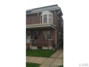 Rental Homes for Rent, ListingId:27709810, location: 1106 8Th Street Allentown 18103