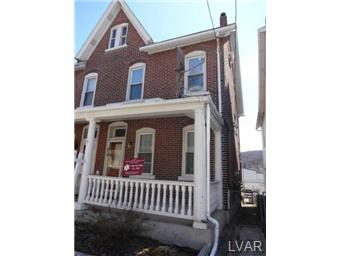 Rental Homes for Rent, ListingId:27787883, location: 914 Seneca Street Bethlehem 18015