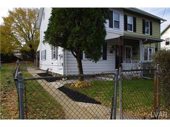 Rental Homes for Rent, ListingId:27787863, location: 940 South Filmore Street Allentown 18103