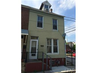 Rental Homes for Rent, ListingId:28723228, location: 153 Oak Street Allentown 18102