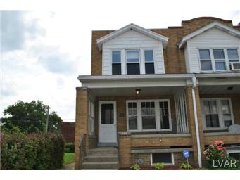 Rental Homes for Rent, ListingId:28757518, location: 808 North 10th Street Allentown 18102
