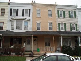 Rental Homes for Rent, ListingId:28874088, location: 226 North 16Th Street Allentown 18102