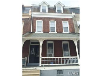 Rental Homes for Rent, ListingId:29005680, location: 139 North 10th Street Allentown 18102