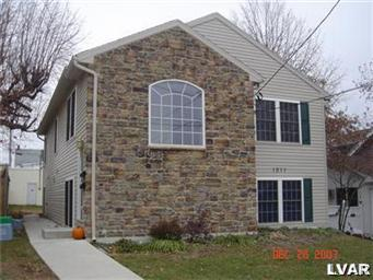 Rental Homes for Rent, ListingId:29400498, location: 1011 South Lumber Street Allentown 18103