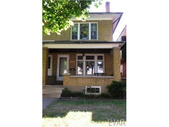 Rental Homes for Rent, ListingId:29076257, location: 733 North 21St Street Allentown 18104