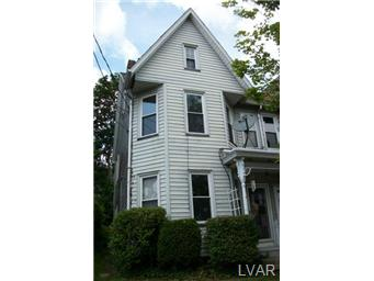 Rental Homes for Rent, ListingId:29084673, location: 911 Bushkill Street Easton 18042
