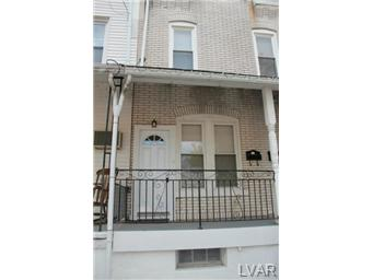 Rental Homes for Rent, ListingId:29173749, location: 824 9Th #2 Street Allentown 18102