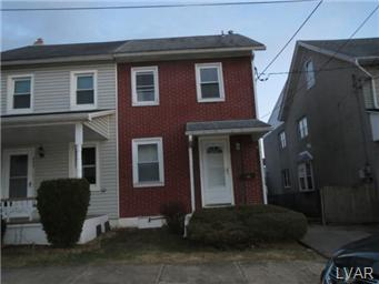 Rental Homes for Rent, ListingId:29239164, location: 225 Church Street Catasauqua 18032