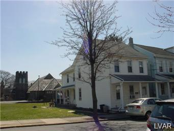 Rental Homes for Rent, ListingId:29247927, location: 331 Walnut Street Catasauqua 18032