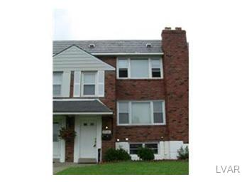 Rental Homes for Rent, ListingId:29284156, location: 2108 South Lumber Street Allentown 18103