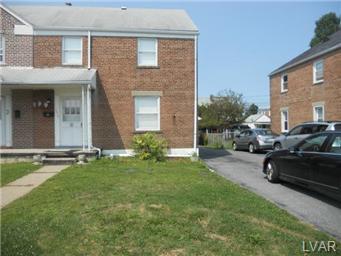 Rental Homes for Rent, ListingId:29416359, location: 1519 South Jefferson Street Allentown 18103