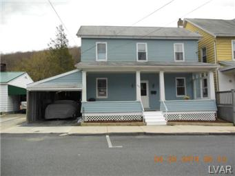 Rental Homes for Rent, ListingId:29595590, location: 629 Washington Street Slatington 18080