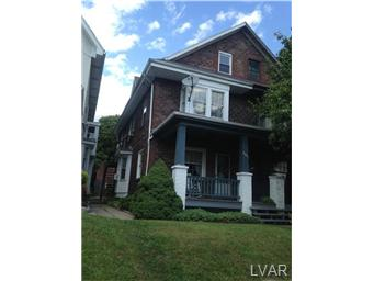 Rental Homes for Rent, ListingId:29611755, location: 604 West Union Boulevard Bethlehem 18018